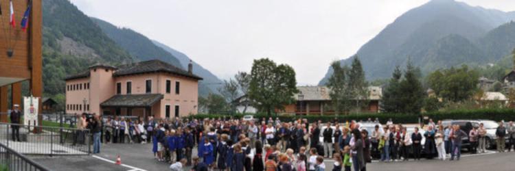 Inaugurazione Z'lannsch Hous