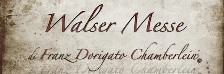 Walser Messe, Santa Cecilia 2016